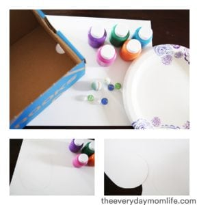 Marble Easter Egg Craft Materials