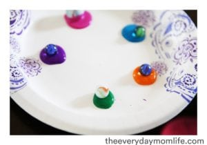 Marble & Paint Easter Egg Craft3