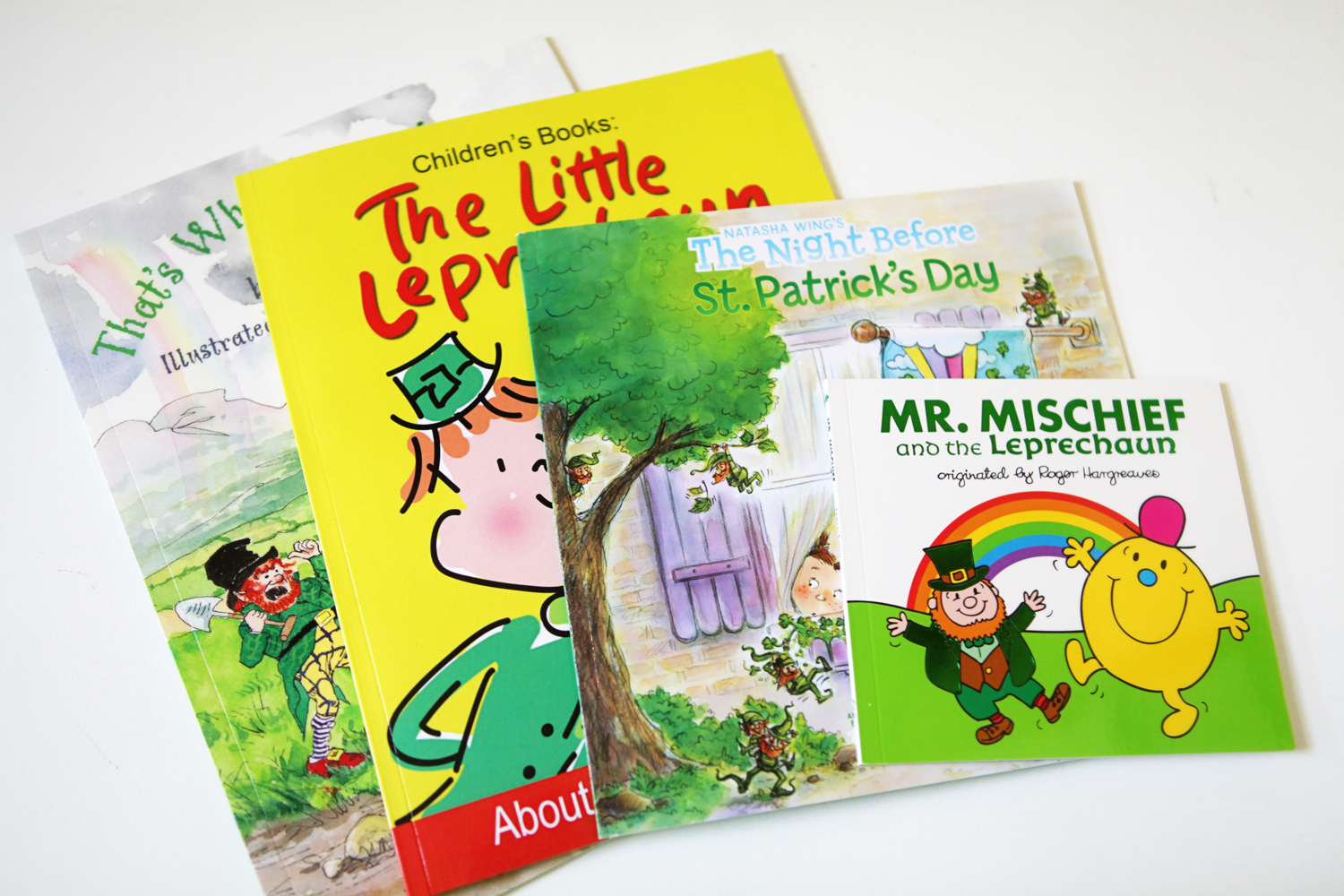 six books about leprechauns u0026 luck for st patrick u0027s day the