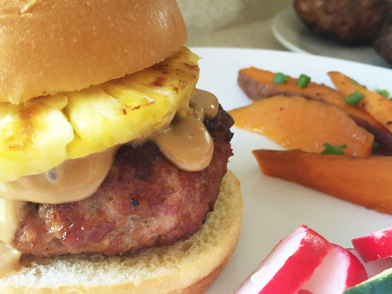 Ginger Soy Sauce Pork Burger Recipe - The Everyday Mom Life