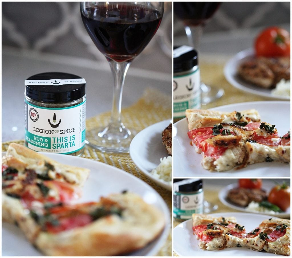 Mediterranean White Pizza - The Everyday Mom Life