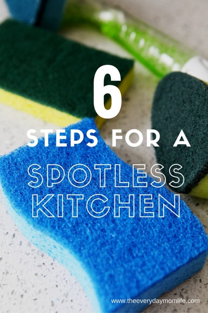 A Spotless Kitchen - the everyday mom life