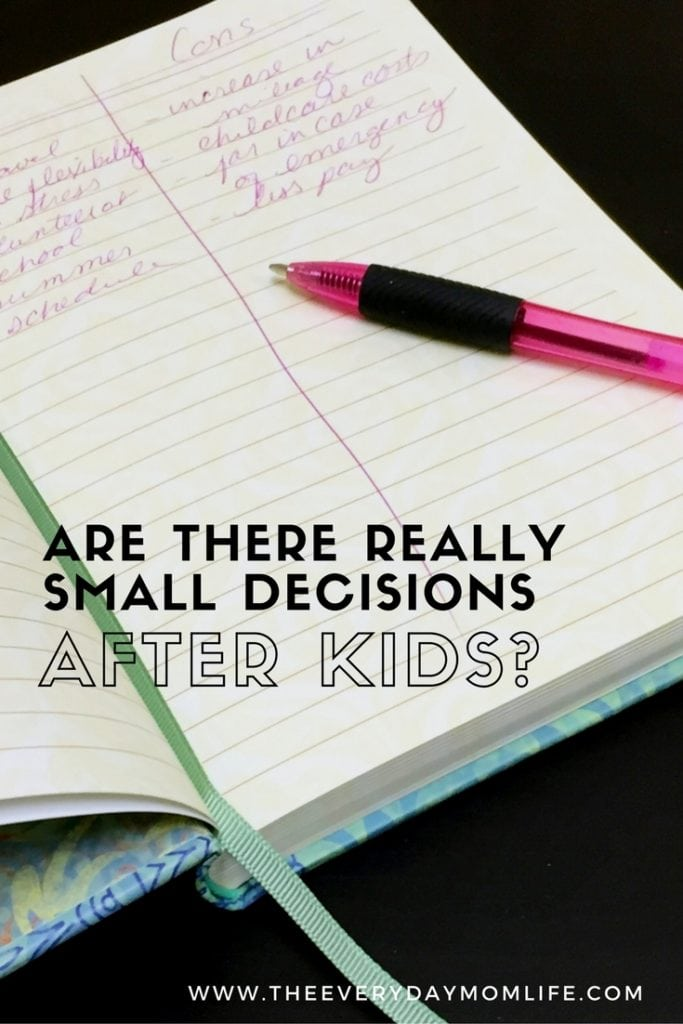 Are there small Decisions - Pintrest