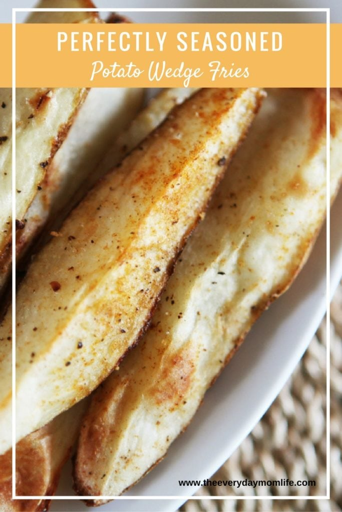 baked potato wedges - The Everyday Mom Life