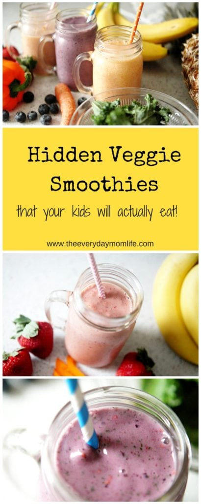 Hidden Veggie Smoothies