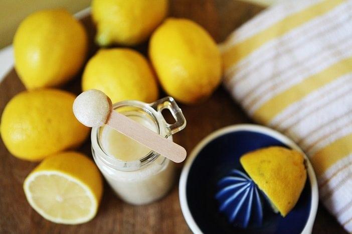 natural Lemon body scrub