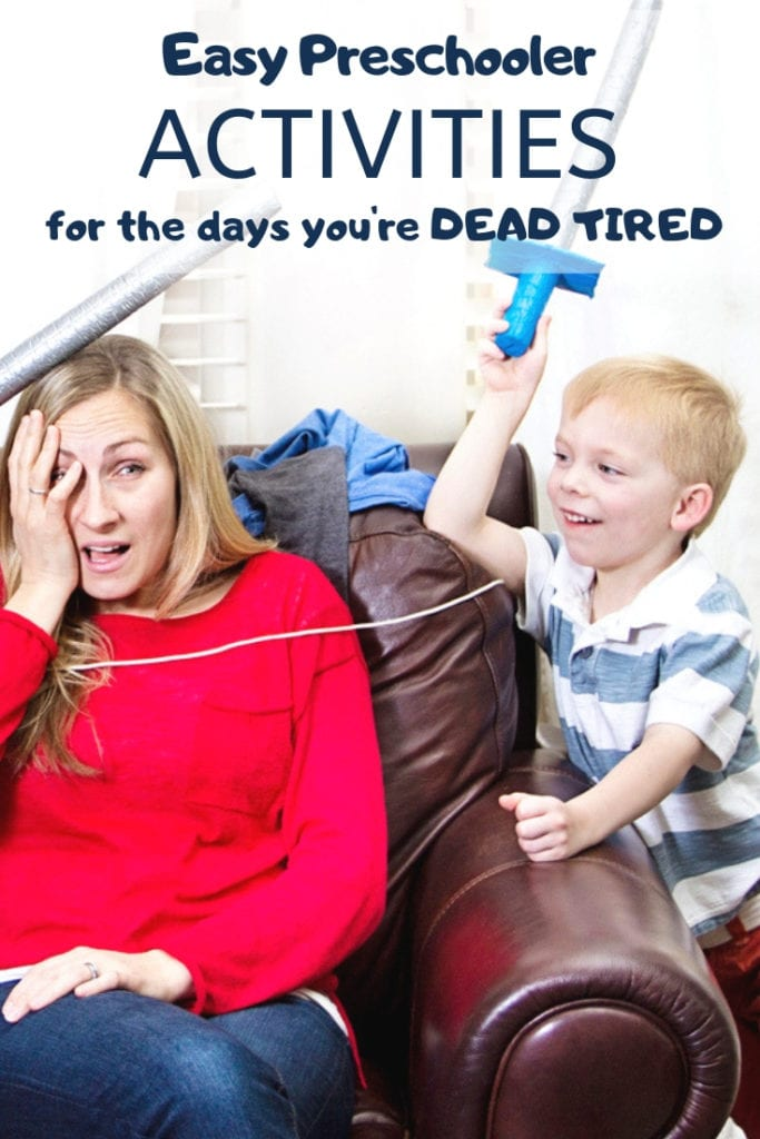 easy preschooler activities - The Everyday Mom Life