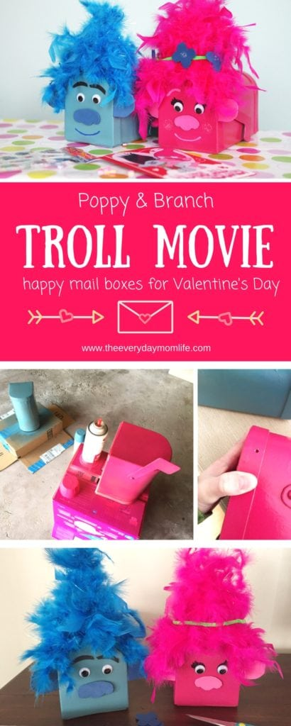 Troll Movie Card Boxes For Happy Mail Full Of Love The