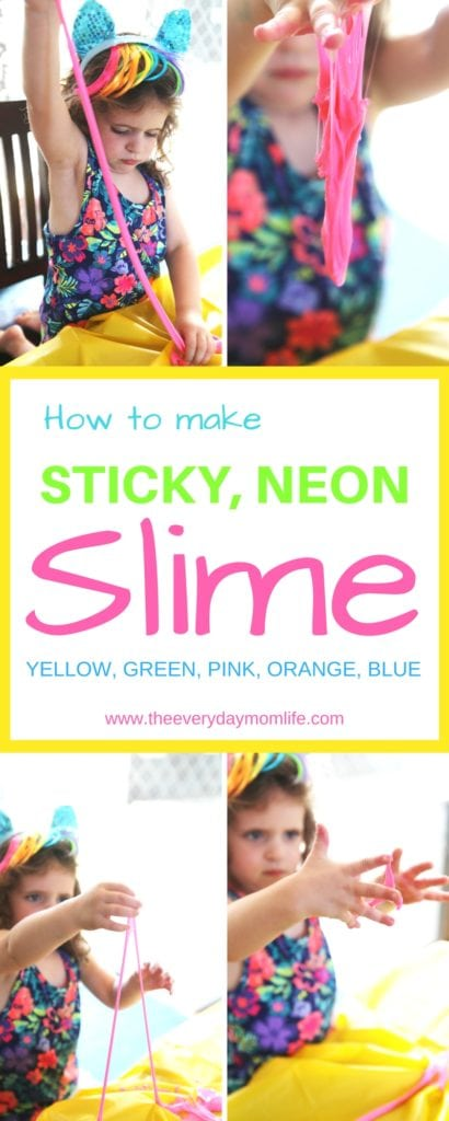 best slime recipe - The Everyday Mom Life