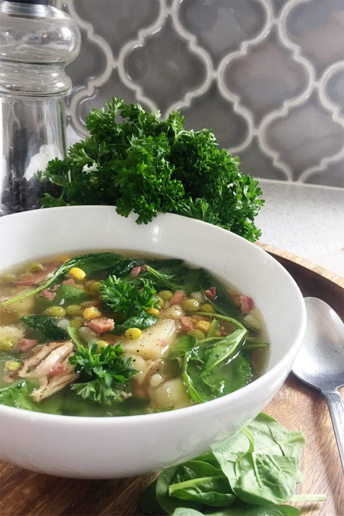 vegetable ham bone soup - The Everyday Mom Life