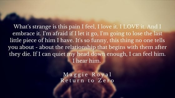 A letter to my stillborn son - The Everyday Mom Life - Maggie Royal Quote from Return To Zero