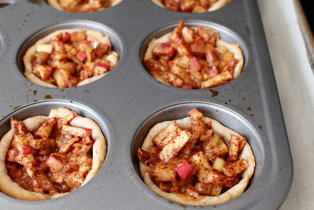 Caramel Apple Pie Cups - The Everyday Mom Life