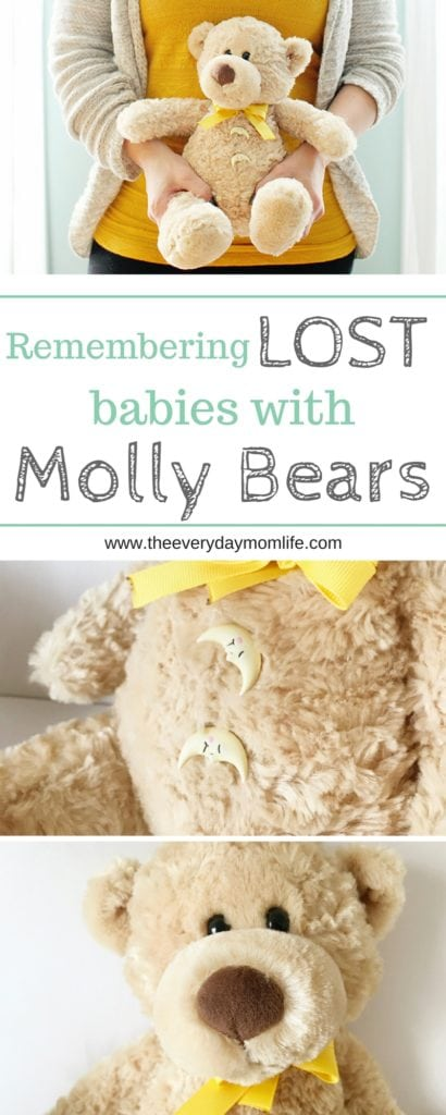 Remembering lost babies with Molly Bears - The Everyday Mom Life