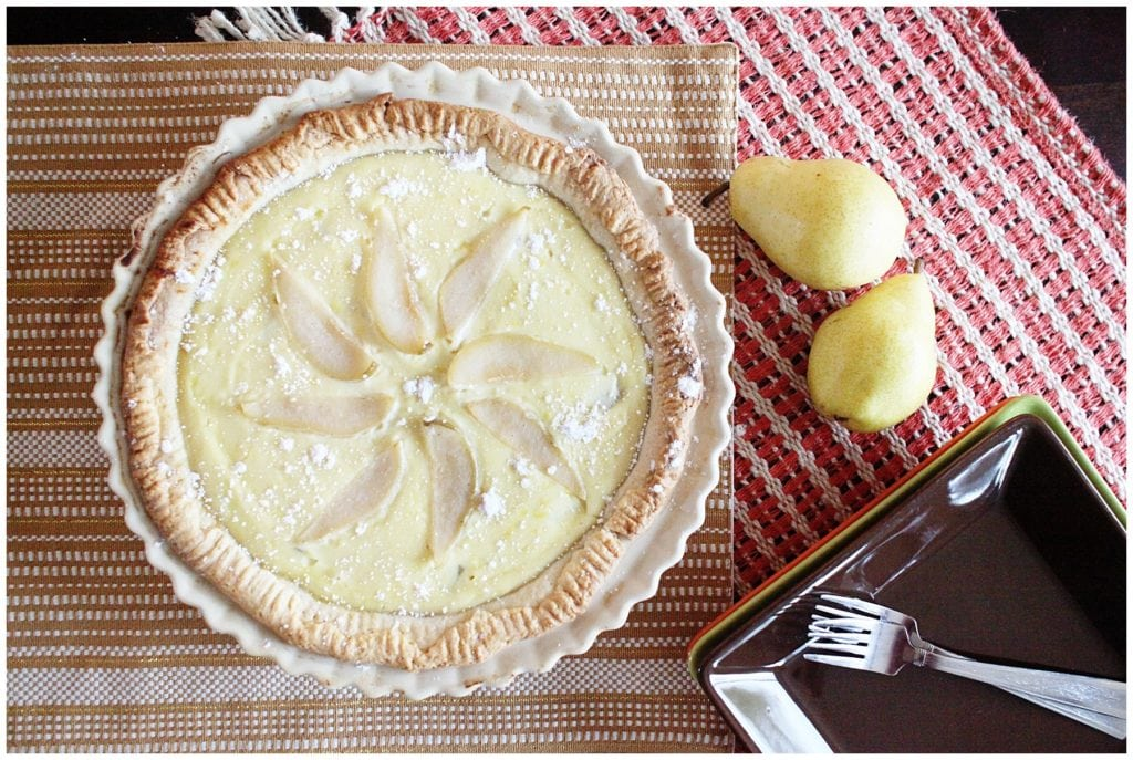Ricotta & Pear Pie - The Everyday Mom Life
