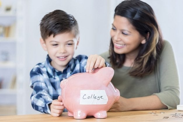 Save for college - The everyday mom life