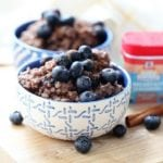 Maple Cinnamon Blueberry Overnight Oats