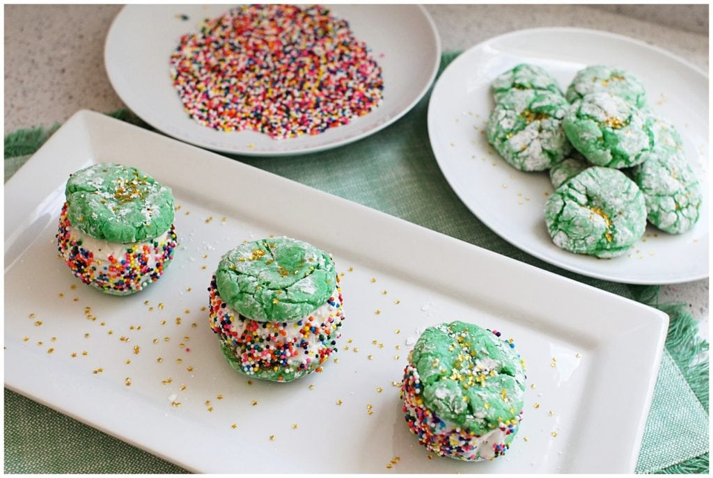 Cookie Bites For St. Patrick's Day