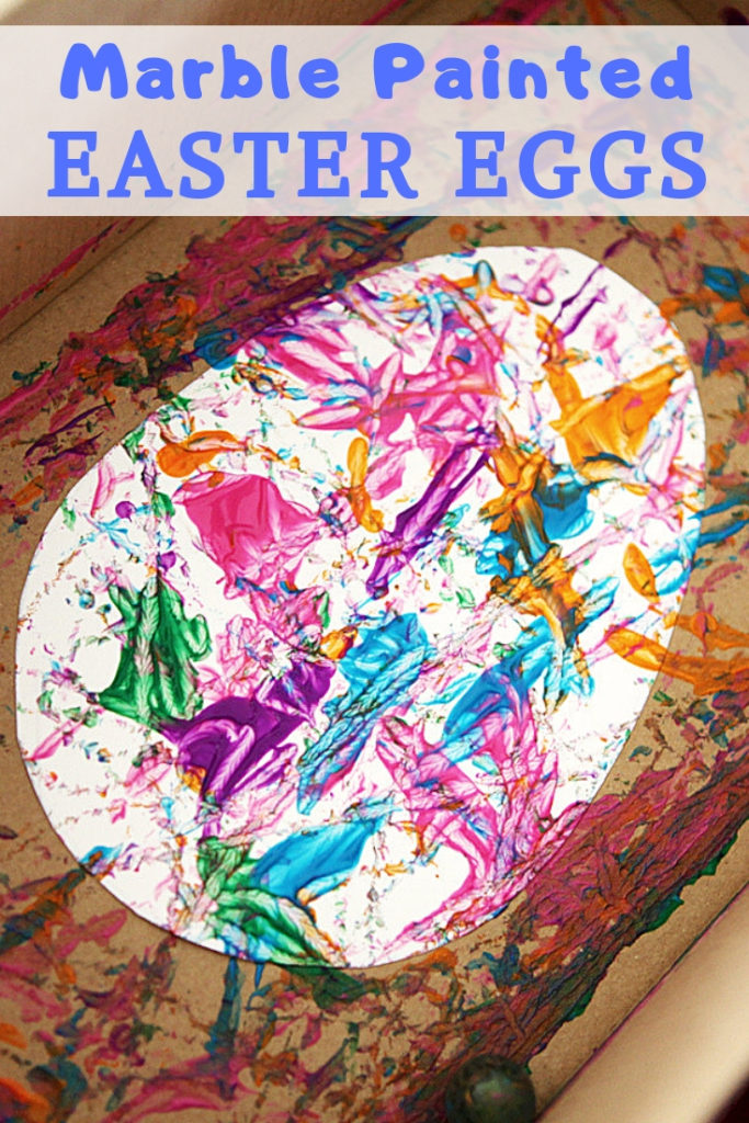 Marble Easter Egg Craft Your Kids Will Love