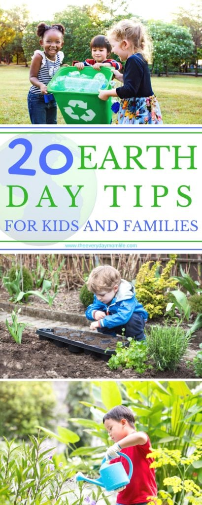 earth day tips - The Everyday Mom Life