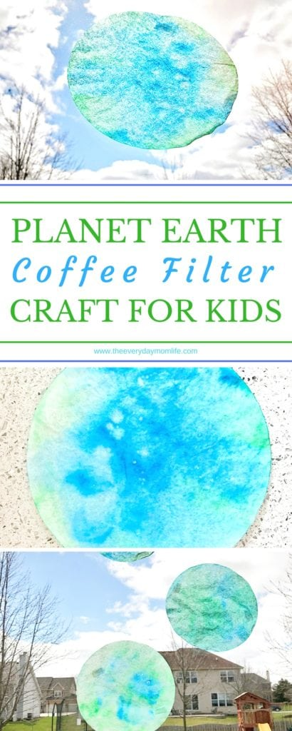 coffee filter craft - The Everyday Mom Life