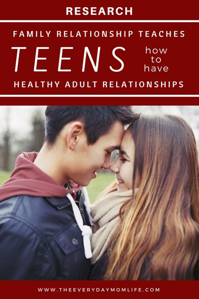 family relationship teaches teens how to love