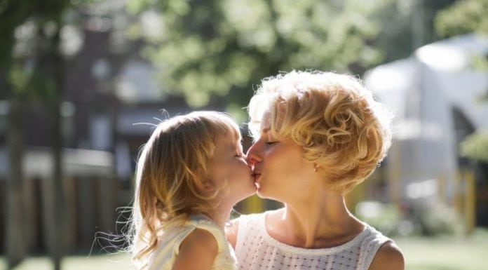 When Should You Stop Kissing Your Kids On The Lips