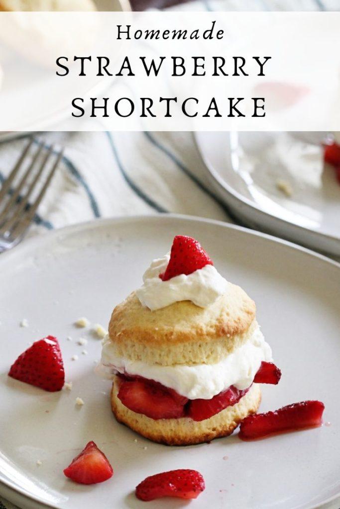 The best homemade Strawberry Shortcake