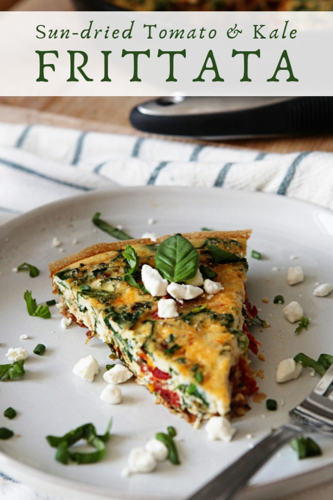 Sun-dried Tomato and Kale Frittata Recipe