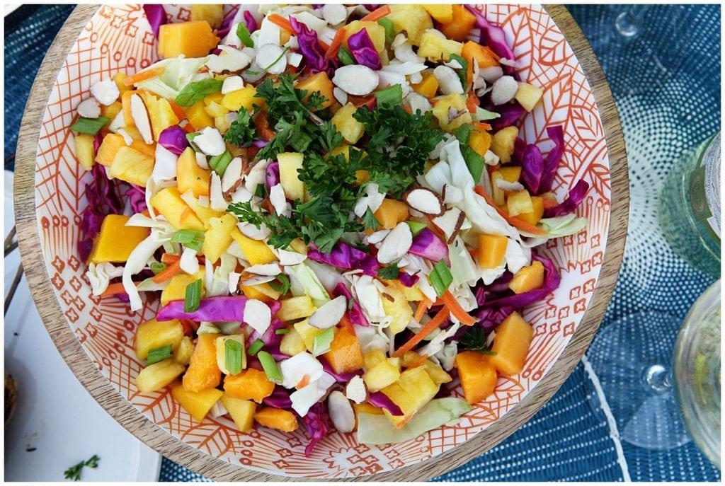 Caribbean Coleslaw Recipe - The Everyday Mom Life