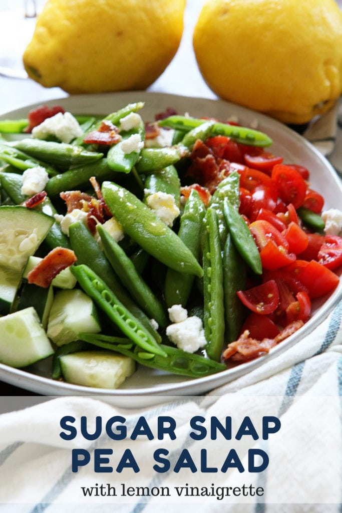 sugar snap pea salad - The Everyday Mom Life