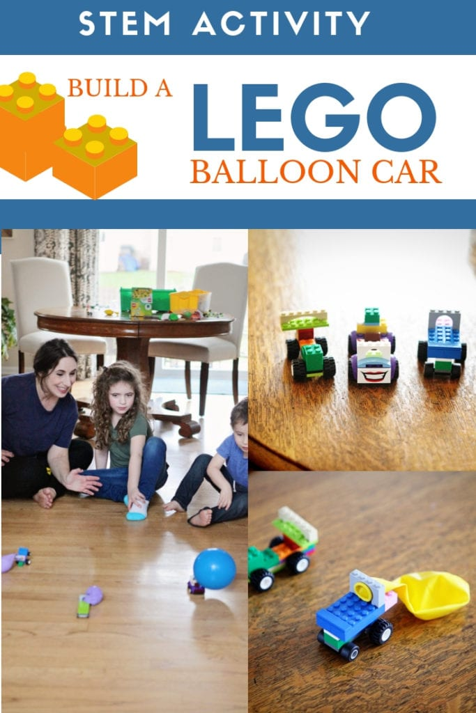 STEM Activities: Build a Lego Balloon Car
