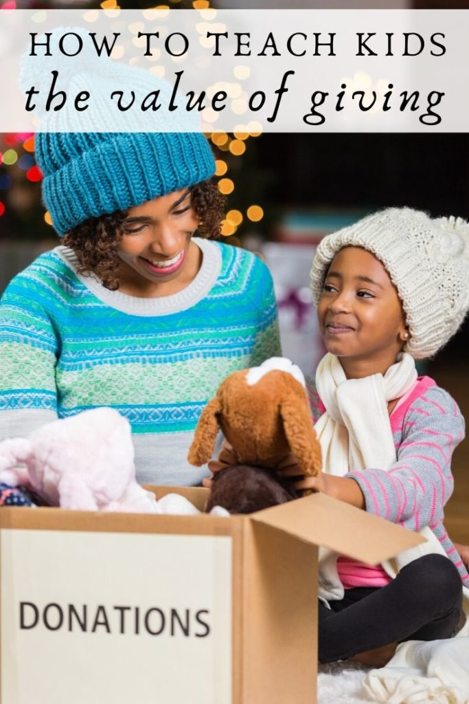 How to teach kids the value of giving