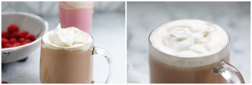 Raspberry Vanilla Pink Hot Chocolate Recipe