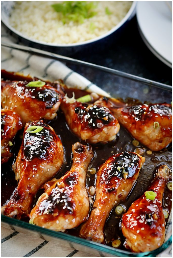 Korean Barbecue Chicken Legs