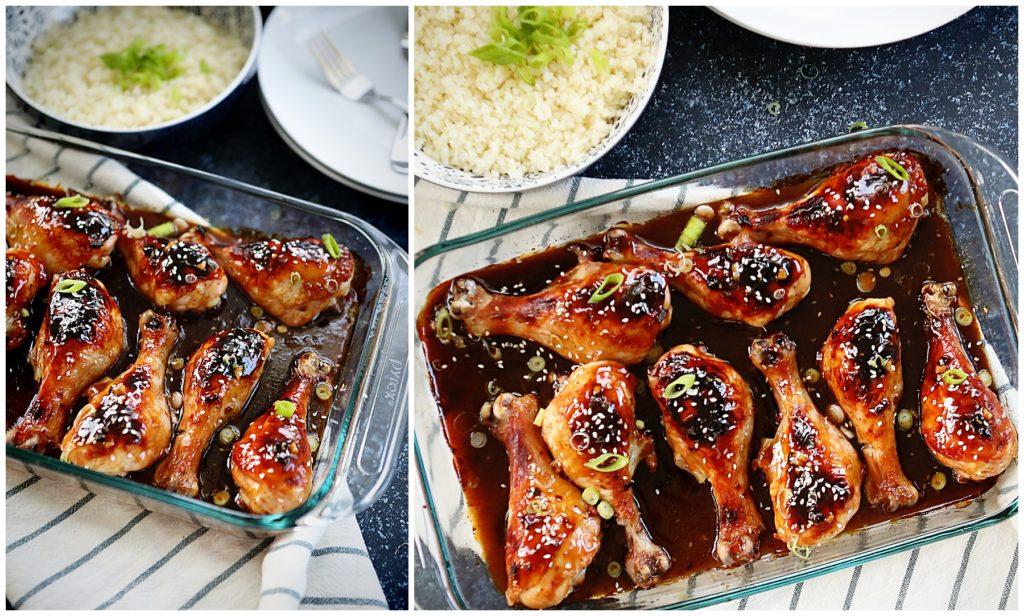 Korean Barbecue Chicken Legs
