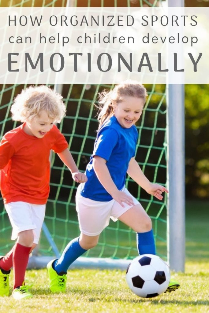 How organized sports can help children develop emotionally