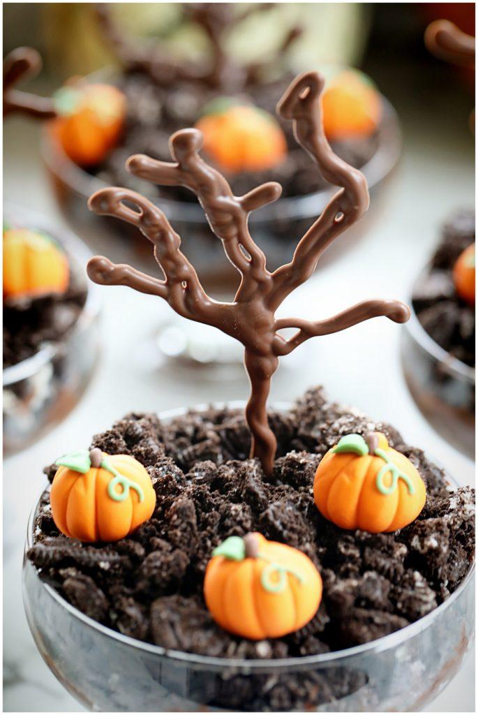 Spooky Halloween Dirt Cups