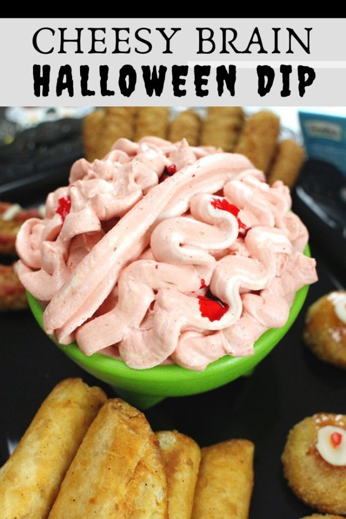 Halloween Recipes - Cheesy Brain